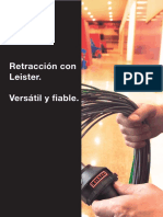 Leister Plastic-Welding BR Shrinking ES