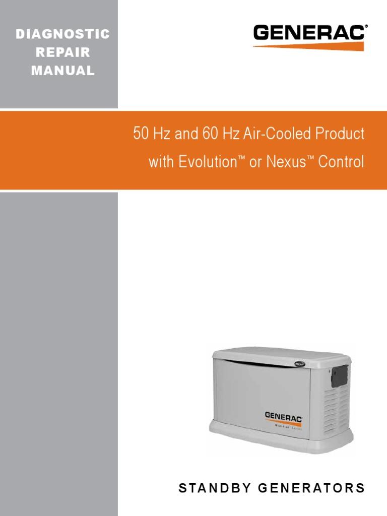 Air Cooled Diagnostic Repair Manual 0H9172 Rev J | Amplifier