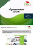 RegistroOfertaConjunto 0003 RUV