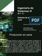 Sistema de Producción en Serie IS3