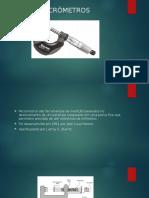 Slide Tipos de Micrômetros