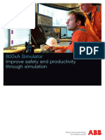 3bse059989 a en 800xa Simulator Brochure - Improve Safety and Productivity Through Simulation