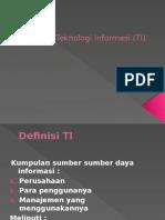 Konsep Teknologi Informasi (TI)