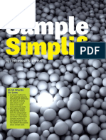 Sample Simplification