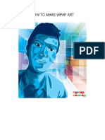 How to Make Wpap Art