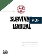 Zombie Activity Book