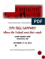 2014 Fall Camporee Info Pack