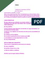"""Arquetipos """"La Canción de Eva"""""""