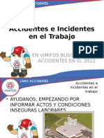 Accidentes e Incidentes En el Trabajo