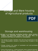 Storage and Ware housing of Agricultural products.pptx
