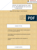 Investigation of mechanical and tribological properties of Al Ni SiC composite by powder metallurgy