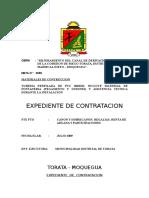 EXPEDIENTE DE CONTRATACION TUBERIA PERFILADA DE 250 MM.doc