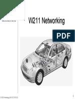 Networking Mercedes Classe E W211