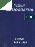 Bibliografija GRV i PVO 1945-85.