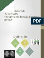 Enfermedad de Parkinson Presentacion
