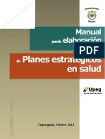 Manual Plane Strategic o