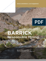 Barrick Gold 2009 Responsibility Report