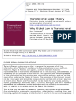 ZUMBANSEN, P. Why Global Law is Transnational