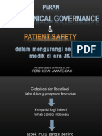 Good Clinical Governance & Patient Safety , Dinkes Prop, 22 Maret 2016