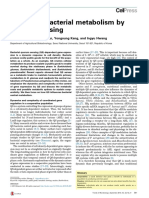 1. Control of Bacterial Metabolism by Quorum Sensing
