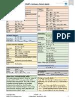 PMP Formulas Pocket Guide