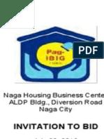 Pag Ibig Foreclosed Properties for Public bidding Legazpi Naga 082416 No Discount