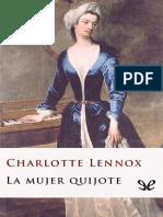 Lennox, Charlotte - La Mujer Quijote