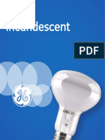 Incandescent Lamps Spectrum Catalogue