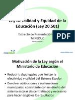 leydecalidadyequidad0501chileduc-121120074517-phpapp02