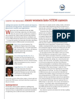 How to Attract More Women Into STEM Careers