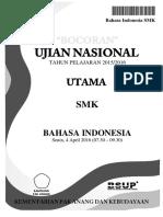 Soal UN Bahasa Indonesia SMK 2016_2