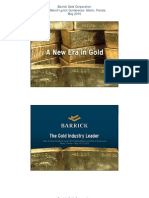 Barrick Gold - Bank of America-Merrill Lynch 2010 Global Metals and Mining Conference