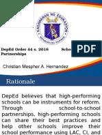DepEd School-to-School Partnerships