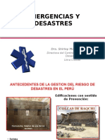 Emergencias y Desastres