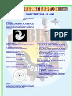TIERRA  CARACTERÍSTICAS - LA LUNA