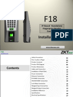 167WCP F18 Installation Guide ZKACCESS
