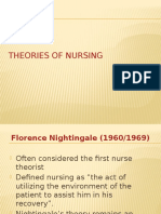 Theoretical Foundations in Nursing
