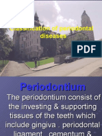 Classification of Periodontal Diseases Perio