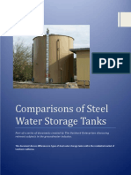 Comparisons of Steel Water Storage Tanks (Tim Guishard Enterprises)