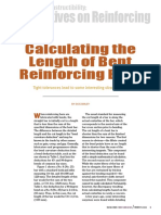 Calculating Length of Reinforcing Bars
