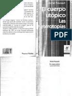 Foucault - Cuerpo Utopico. Heterotopias
