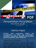 Penyelidikan Dan Penyidikan 2012