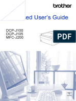 Advance User Guide DCP-J105