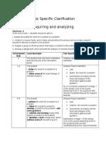 tsa-criterion a inquiring and analyzing