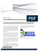 Arista-7500E DWDM Use Cases White Paper