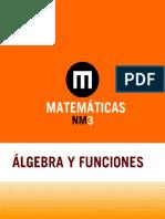 Algebra y Funciones 8
