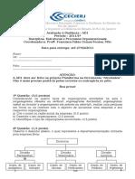 2011.1 AD1 de Estrutura e Processos Organizacionais