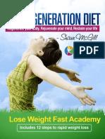 Regeneration Diet