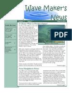 March 2010 Wave Maker's Newsletter