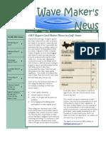 September 2009 Wave Maker's Newsletter
